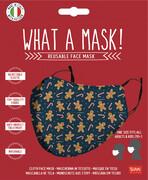 Mund-Nasen-Maske - Gingerbread Man