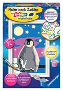 Kleiner Pinguin. Malen nach Zahlen