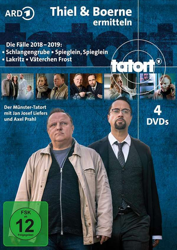 Tatort - Thiel & Boerne (2018/2019) als DVD