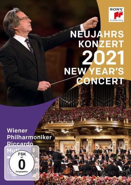 Neujahrskonzert 2021 / New Year's Concert 2021 als DVD