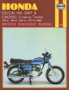 Honda CD/CM 185, 200t & Cm250c 2-Valve Twins: 181cc - 194 CC - 234 CC. 1977 to 1985
