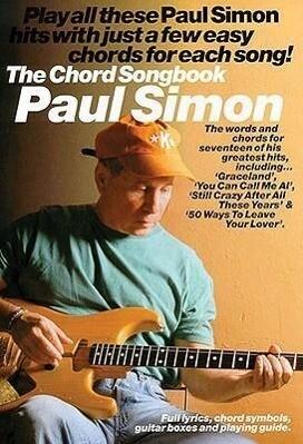 Paul Simon The Chord Songbook als Buch