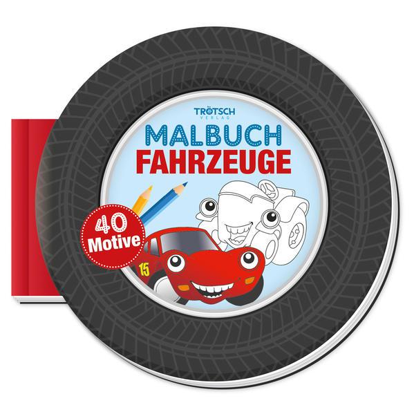 Image of Trötsch Malbuch Fahrzeuge Malbuch