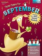 Three Cheers for September: Grades 1-2