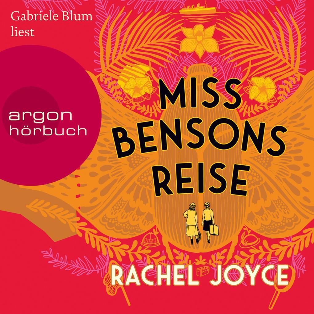 Miss Bensons Reise (Autorisierte Lesefassung) als Hörbuch Download