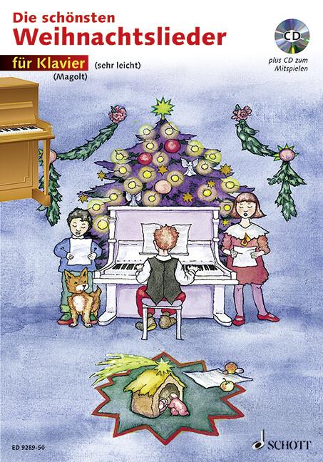Die schönsten Weihnachtslieder als Buch von