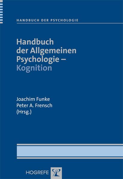 Handbuch der Allgemeinen Psychologie - Kognitio...
