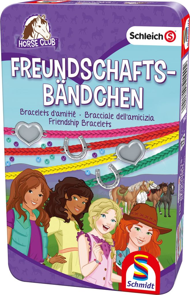 Schmidt Spiele - Horse Club Freundschaftsbändchen