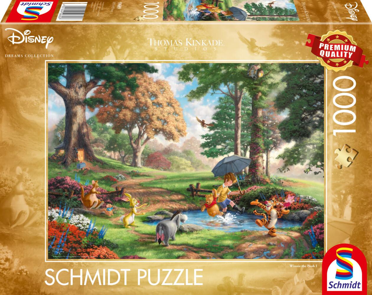Disney, Winnie The Pooh Puzzle 1.000 Teile als Spielware