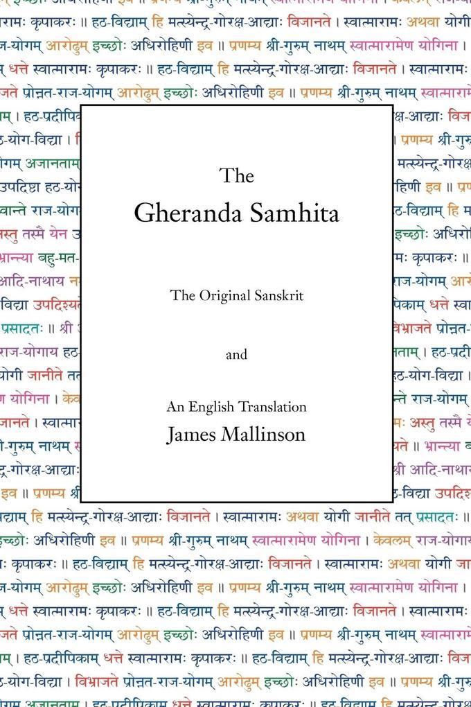 The Gheranda Samhita als Buch