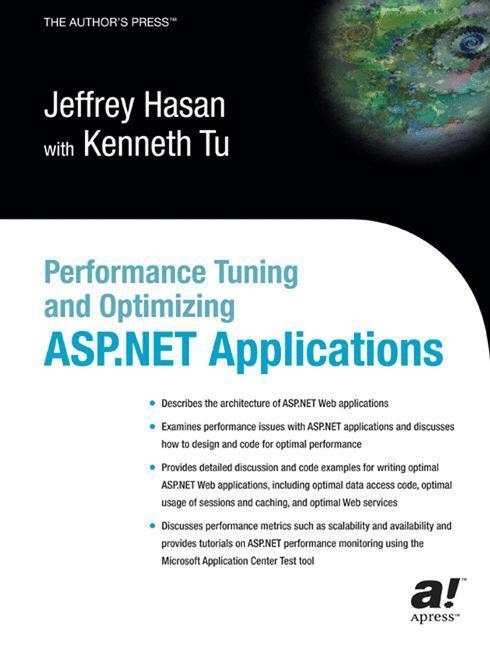 Performance Tuning and Optimizing ASP.NET Applications als Buch (gebunden)