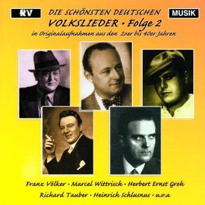 Die Schönsten Deutschen Volkslieder 2 als CD