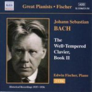 Wohltemperierte Klavier Buch 2 als CD