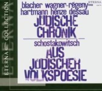 Jüdische Chronik/Aus Jüdischer Volkspoesie