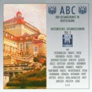 Abc Der Gesangskunst Teil 2 als CD