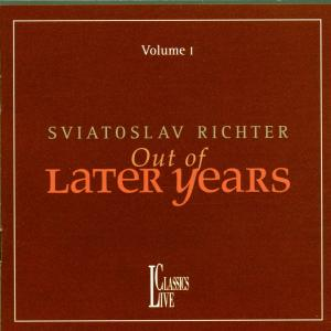 Richter Out Of Later Years Vol.1 als CD