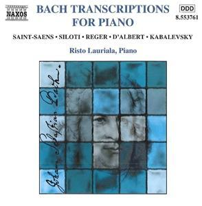 Transcriptions Für Piano als CD