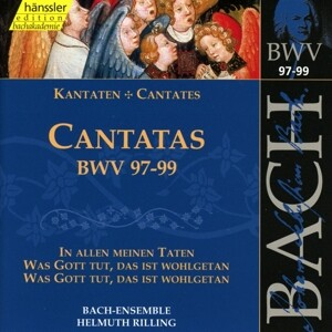 Kantaten BWV 97-99 als CD