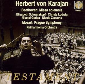Missa Solemnis/Sinf.38 (CD), Schwarzkopf/Gedda/Karajan