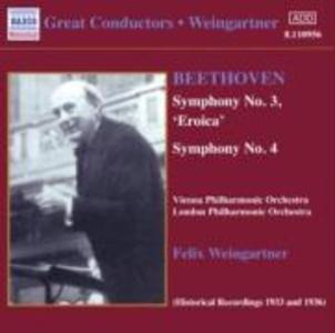 Sinfonie 3+4 als CD