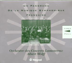 Panorama Der Französischen Sinfonischen Musik als CD