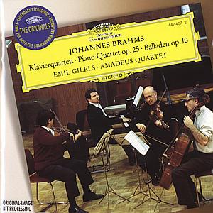 Klavierquartett/Balladen als CD