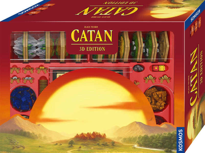 Image of Catan - 3D Edition