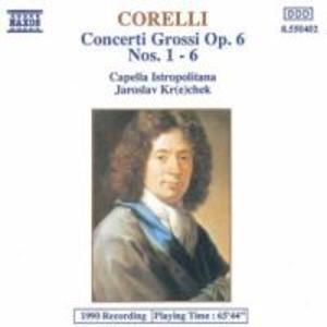 Concerti Grossi op.6,1-6 als CD
