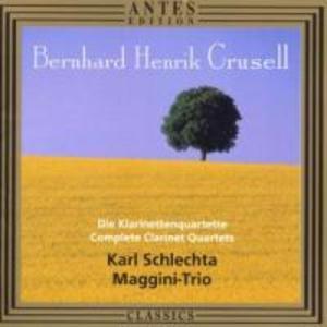 Sämtliche Klarinettenquartette (GA) als CD