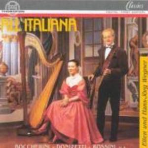 All Italiana: Werke Für Flöte Und Harfe