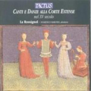 Canti e Danze alla Corte Estense als CD