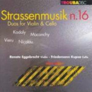 Strassenmusik 16 als CD