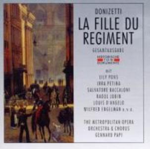 La Fille Du Regiment (GA) als CD