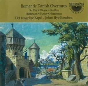 Romantische Ouvertüren Aus Dänemark als CD
