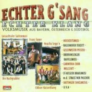 Echter Gsang,Echter Klang als CD