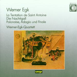 La Tentation De Saint Antoine/Die Nachtigall als CD