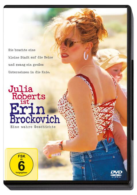 Erin Brockovich - Eine wahre Geschichte als DVD