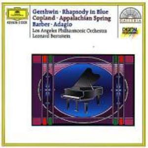 Rhapsodie In Blue/Appalachian Spring/Adagio als CD