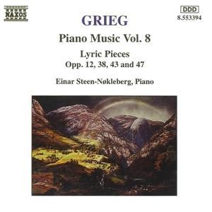 Klavierwerke Vol.8 als CD