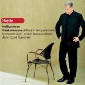 Heiligmesse/Paukenmesse(Missa In Tempore Belli) als CD