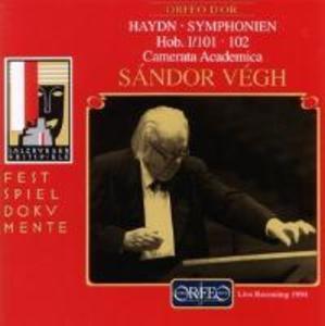 Sinfonien 101 D-Dur/102 B-Dur als CD