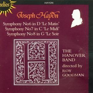 Symphonies Of Joseph Haydn 6-8 als CD