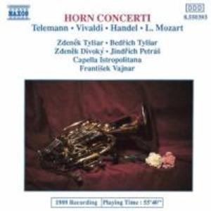Hornkonzerte als CD