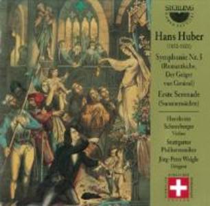 Huber:Sinfonie 5/Erste Serenade als CD