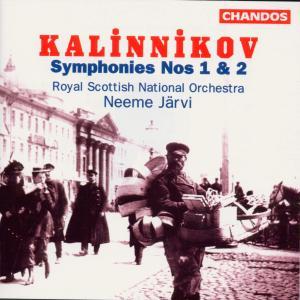Sinfonien 1 & 2 als CD