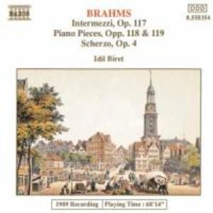 Klavierstücke op.117+118+119/ als CD