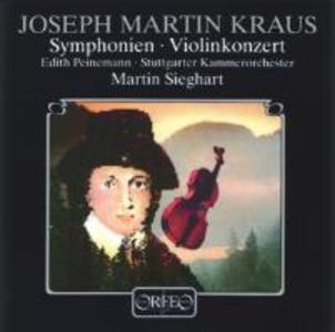 Sinfonie c-moll/Violinkonzert C-Dur/Sinf.funebre als CD
