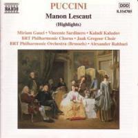 Manon Lescaut (AZ) als CD