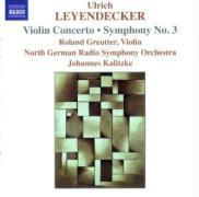 Violinkonzert/Sinfonie 3 als CD