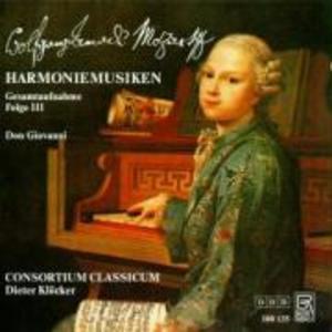 Harmoniemusiken Folge 3 (Don Giovanni) als CD